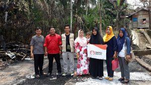 Sinergi Sriwijaya meringankan sedikit beban dari Korban Kebakaran di Pseksu Lahat