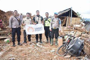 Longsor Sukabumi, Tim Sinergi Sriwijaya Peduli salurkan bantuan segera