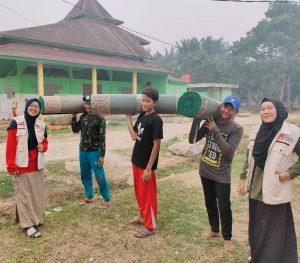 SSPeduli berikan Bantuan Karpet Masjid untuk Ponpes Hidayatullah