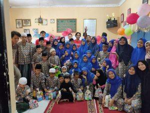 Gembira di Panti, SS Peduli Hadirkan Kebahagiaan bersama Anak Yatim