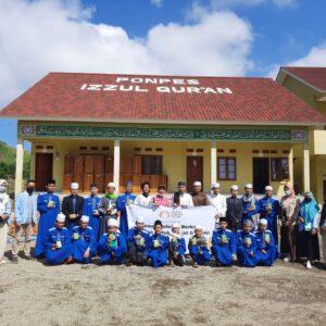 GenHa Sinergi Sriwijaya Peduli Menuju Pelosok, Berbagi Alqur'an untuk Masjid Dan Santri