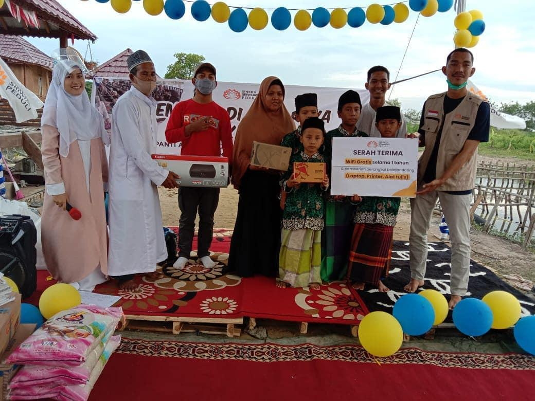 SS Peduli Merayakan Hari Raya Yatim bersama Anak Panti Asuhan Peduli Anak Yatim