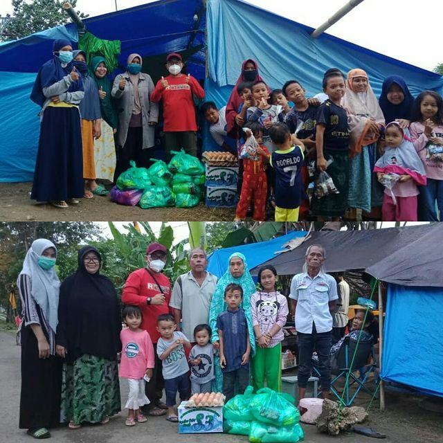 PENYALURAN BANTUAN untuk KORBAN GEMPA MAMUJU dari Donatur SS Peduli